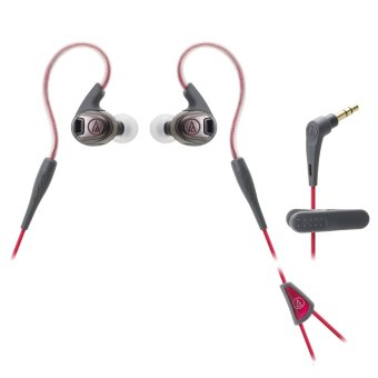 Harga Audio Technica ATH-SPORT3 Sonic Sport In-Ear Headphones (Red)