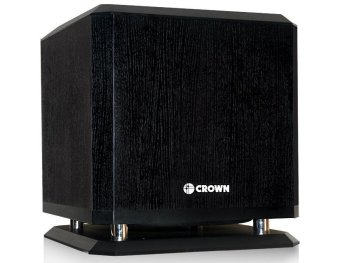Crown BF-8W Active Sub-Woofer (Black) Price Philippines