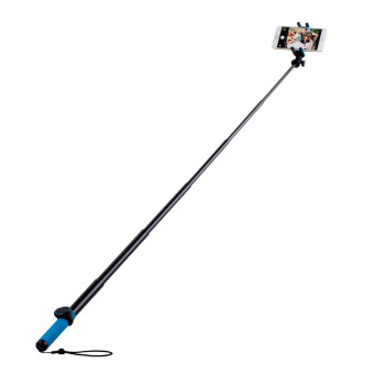 Harga MOMAX Selfie Hero XL Touchless Stick Extendable Self-portrait Monopod - Blue / Yellow