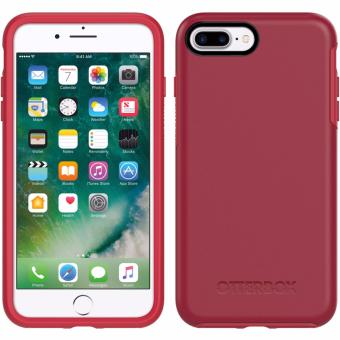 Harga OtterBox Symmetry Series Rubber Case for iPhone 7 Plus (Rosso Corsa)