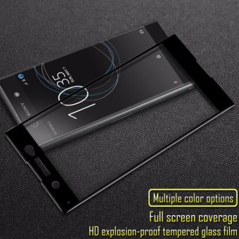 IMAK Full Screen Tempered Glass Protector Film For Sony Xperia XA1Ultra Cellphone Glass Film For Sony Xperia XA1 Ultra