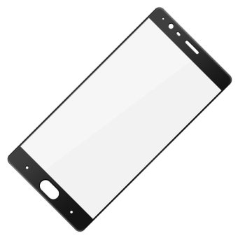 IMAK Tempered Glass Screen Protector Full Cover Film for OnePlus 3T/ 3 - Black - intl - 2