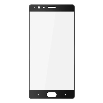 IMAK Tempered Glass Screen Protector Full Cover Film for OnePlus 3T/ 3 - Black - intl