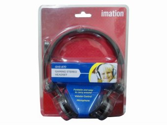 Imation GHS-870 Foldable Audio Gaming Stereo Headset (Black)