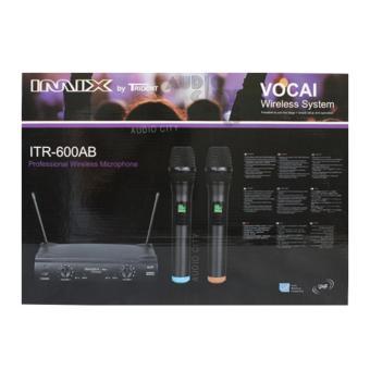 IMIX Trident ITR-600AB 2 Channel Professional Wireless MicrophoneReceiver System (Black) - 5