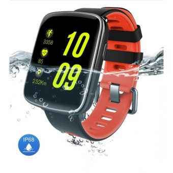 (Import) 2017 New KINGWEAR GV68 MT2502D IP68 Waterproof Swim CallHeart Rate Monitor Smart Watch for IOS Android - intl Price Philippines