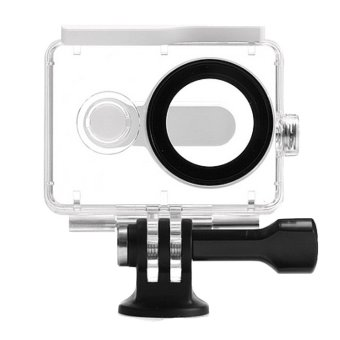 (IMPORT) EACHSHOT? 40m Underwater Waterproof Protective HousingCase For Xiaomi Yi Action Camera (White)