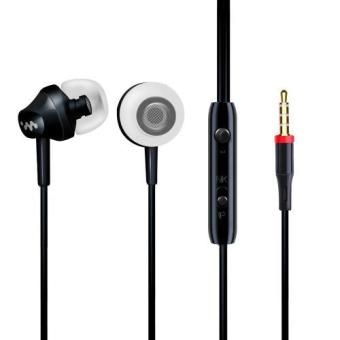 In-Ear Headphones Sport Earbuds with Mic Earphones Stereo Bass 3.5mm Jack Headset for iphone and Android phones - intl