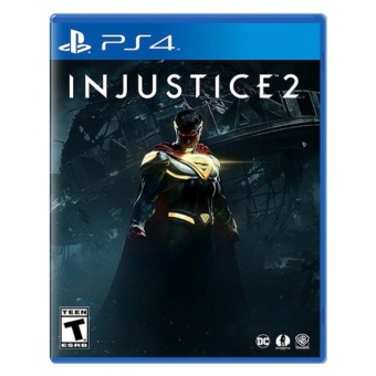 INJUSTICE 2 PS4 GAME R3,R1 MINT CONDITION