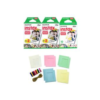 Instax Mini Film 50 Sheets and Photo Hanger
