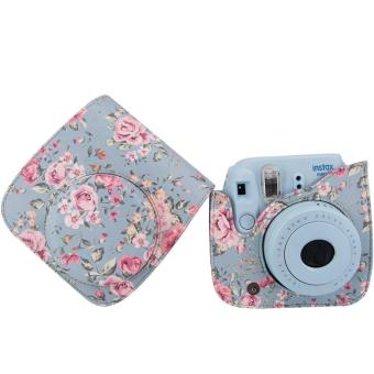 Instaxtic Leather Case with sling strap for Instax Mini 8 / Mini 8+/ Mini 9 - 2