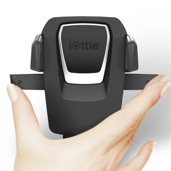 iOTTIE Easy One Touch 3 Car and Desk Mount Holder (Black) - 3