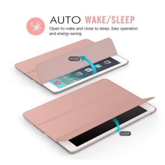 iPad Air Case Slim-Fit Smart Case Cover for Apple iPad Air iPad 5 with Auto Sleep/Wake Feature - intl - 4