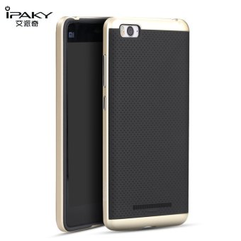 iPaky Slim TPU+PC Shockproof Hybrid Case for Xiaomi Mi 4i/Mi4C(Gold)