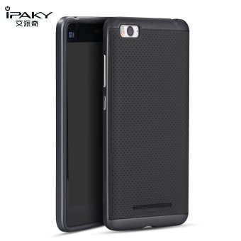 iPaky Slim TPU+PC Shockproof Hybrid Case for Xiaomi Mi 4i/Mi4C(Grey)