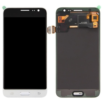 IPartsBuy For Samsung Galaxy J3 (2016) / J320 LCD Screen + TouchScreen Digitizer Assembly(White) - intl