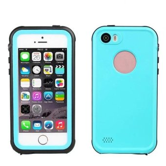 iPhone 5 5s Waterproof Case, Ultra Thin IP68 Underwater DivingWaterproof shockproof Phone case for Apple iPhone 5 / 5S / SE -intl