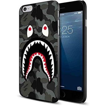 iphone 6 6s plus case,Bape Shark Black Army Pattern for Iphone andSamsung Galaxy Case (iPhone 6 6s plus black) by Peanut and kelp -intl Price Philippines