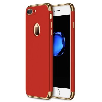 iPhone 7 Plus Case,GiMi Stylish Slim Hard Case with 3 DetachableParts for Apple iPhone 7, CHROME GOLD and MATTE BLACK, [CLIP-ON] -intl Price Philippines