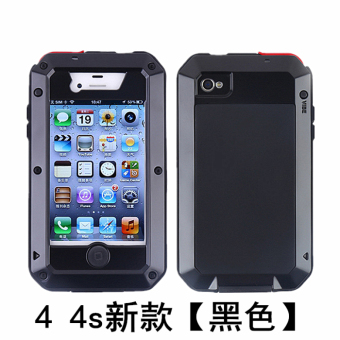 Iphone5s/4S/6 plus/5c metal three anti-Apple drop-resistant protective case phone case