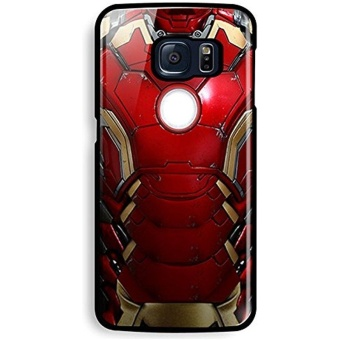 ironman mark 45 body for Samsung Galaxy S6 Edge Black Case - intl Price Philippines
