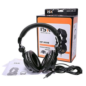ISK HP-960B Professional Studio Monitor Dynamic Stereo DJ Headphones - intl - 3