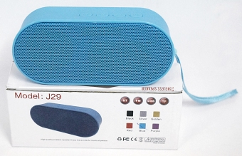 J29 Portable Bluetooth Speaker With Usb/Fm/Tf Card Reader