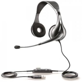 Jabra UC VOICE 150 Duo Corded Headset for Softphone