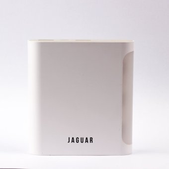 Jaguar Powerbank 10050mAh with Built-In Flashlight (White)