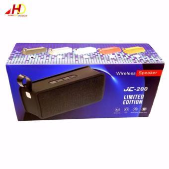 JC200 Portable Wireless Bluetooth Speaker Support FM Radio And Hands Free Calling Outdoor Speaker (Black) - 5