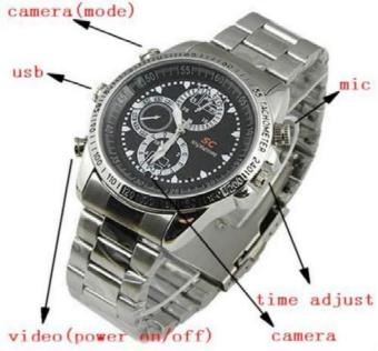 JDM 16GB 1280x960 Spy Watch Hidden Camera Security Video RecorderDVR Cam Camcorder - intl - 3