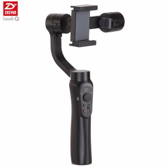 "Jet Black Zhiyun Smooth-Q 3-Axis Handheld Gimbal Stabilizer for upto 6"" Smartphones Price Philippines"
