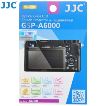 JJC GSP-A6000 Optical Glass LCD Screen Protector for Sony A5000A6000 A6300 - intl