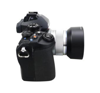 JJC LH-J40B Black Lens Hood For Olympus M.Zuiko Digital 45mm 1:1.8Lens Black - intl - 5