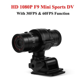 Justgogo-HD 1080P Mini Sports DV Video Camera Waterproof Bike Motorcycle Action DVR Video Cam