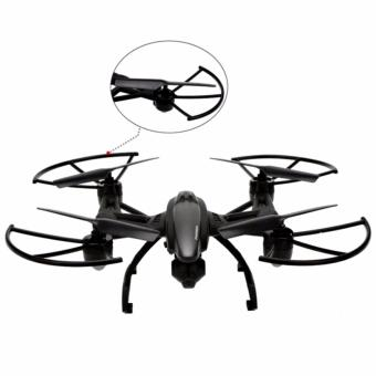 JXD 509W WIFI Real-Time Transmission 2.4GHz/APP cONTROL 720p cam 4CH 6-Axis Gyro Quadcopter Headless Mode (Black) - 3