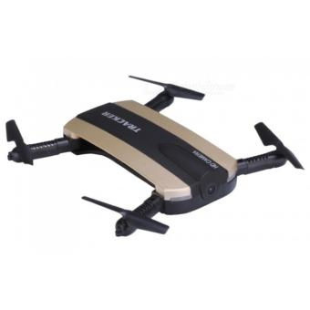 JXD 523 Tracker Foldable WIFI FPV RC Quadcopter HD Selfie Drone(Gold) Price Philippines