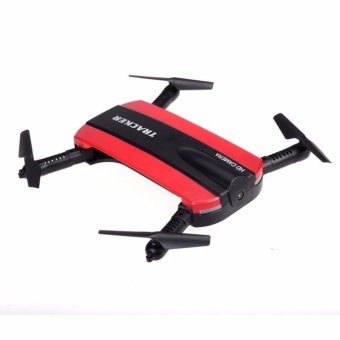 Jxd 523 Tracker Foldable Wifi Fpv Rc Quadcopter Hd Selfie Drone(Red) Price Philippines