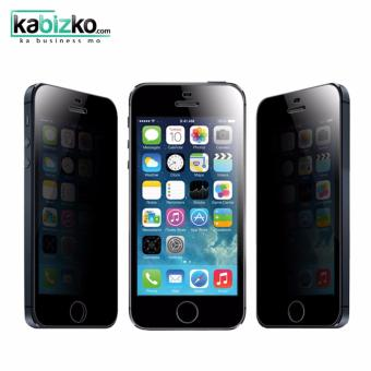 Kabizko Privacy Tempered Glass Anti-Spy Screen Protector for iPhone5 / 5S