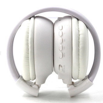KDS N65 Bluetooth Foldable LCD Over-the-Ear Headphone (White) - picture 2