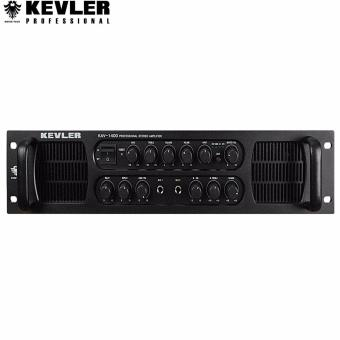 Kevler KAV-1400 Professional Stereo Amplifier 850W x 2 (Black) Price Philippines
