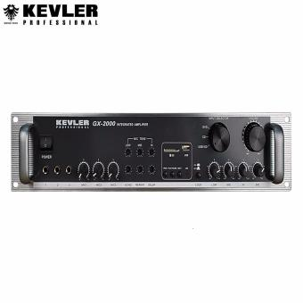 Kevler Professional GX-2000 High Powered Karaoke Amplifier 750W X2Max with USB (Black) Price Philippines