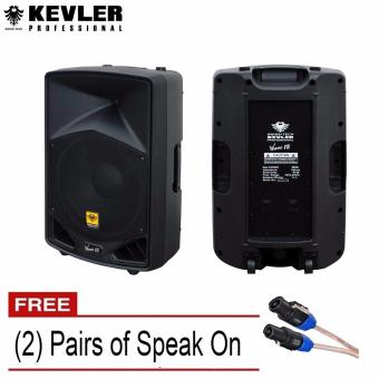 Kevler Wave 12 Passive Speaker System 500W each (1 Pair) with FreeSpeak-On Cable each Price Philippines