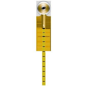 KingCom Solo Z Earphone (Yellow) - picture 2