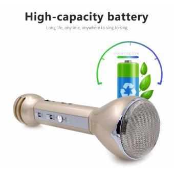 KingDo Handheld KTV Wireless Bluetooth Microphone Karaoke Player cellphone Karaoke with Free Smartphone Waterprooft Case - 4