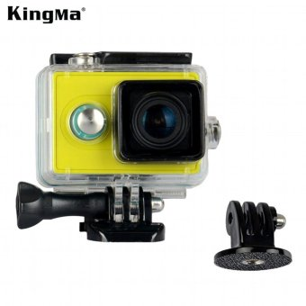 KingMa Original Xiaomi Yi Camera Waterproof Case, Mi Yi 40M DivingSports Waterproof Box, Yi Action Camera aksesoris Accessories -intl
