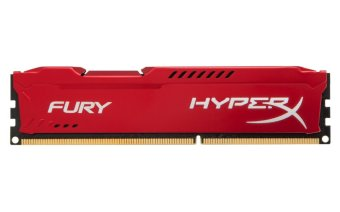Kingston HyperX FURY 4GB 1866MHz PC3-14900 DDR3 Memory Module RAM Long DIMM (Red)