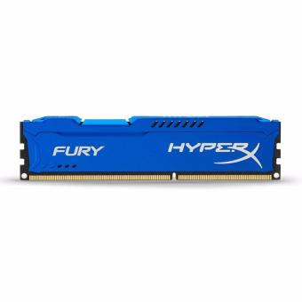 Kingston HyperX FURY 8GB 1600MHz DDR3 PC3-12800 CL10 DIMM (Blue)