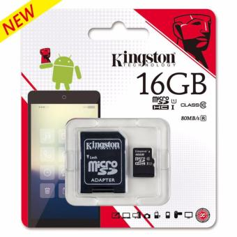 Kingston Micro SD Class 10 UHS-I 16GB Card microSDHC with SDAdapter