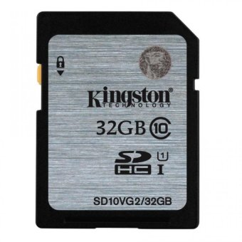 Kingston SD Card Class 10 UHS-I 32GB SD10VG2/32GB for Camera/DSLR